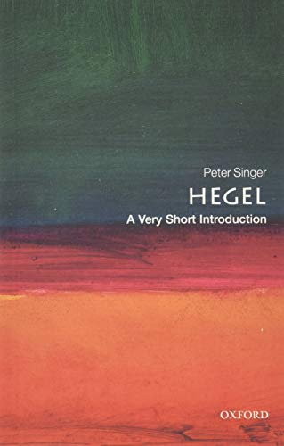 Hegel: A Very Short Introduction Book Cover Picture