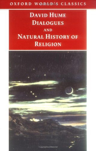 Dialogues, and Natural History of Religion