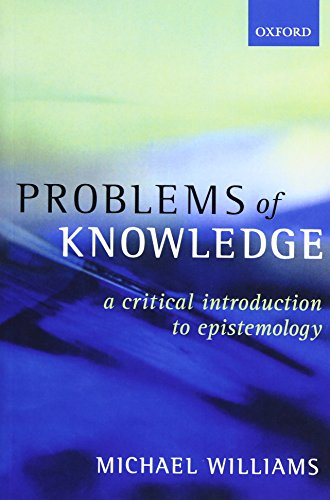 Problems of Knowledge Book Cover Picture