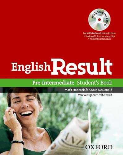 English Result Pre-Intermediate Pack (Student's Book+ DVD)