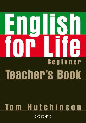 English for Life Beginner Teachers Pac