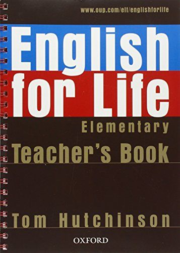 English for Life Elementary Teachers P