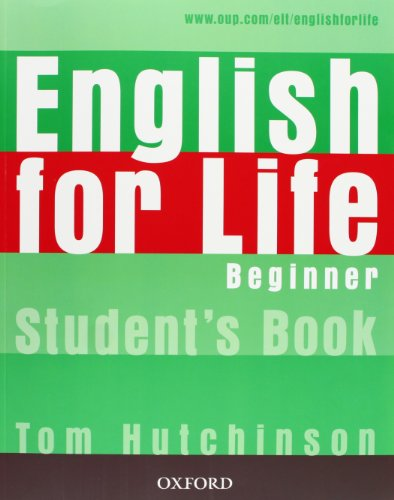 English for Life Beginner Students Boo