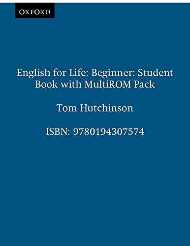 English for Life Beginner: Student's Book With Multi-Rom