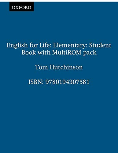 English for Life Elementary Students B