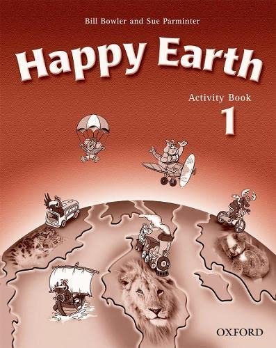Happy Earth: Activity Book Level 1