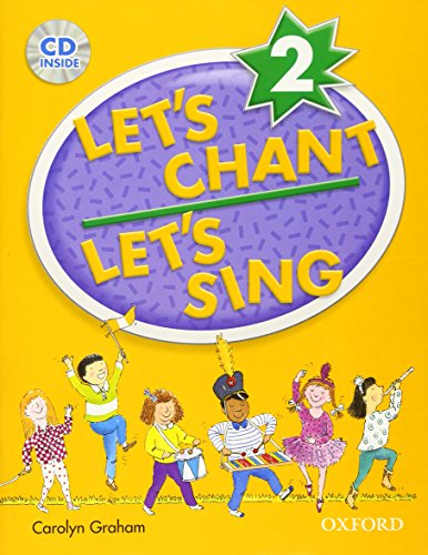 Let's Chant, Let's Sing Book 2 with Audio CD