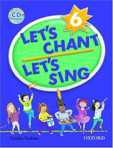 Let's Chant, Let's Sing Book 6 with Audio CD