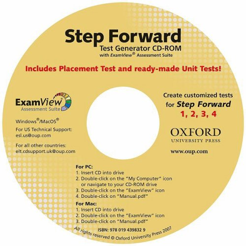 Step Forward 1-4 Test Generator CD-ROM with ExamView: Language for Everyday Life
