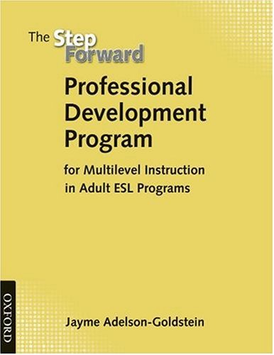 Step Forward Professional Development Handbook