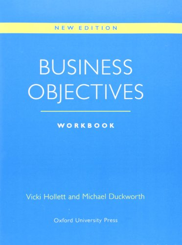 Business Objectives: Workbook