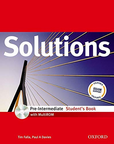 Solutions Pre-Intermediate: Student's B