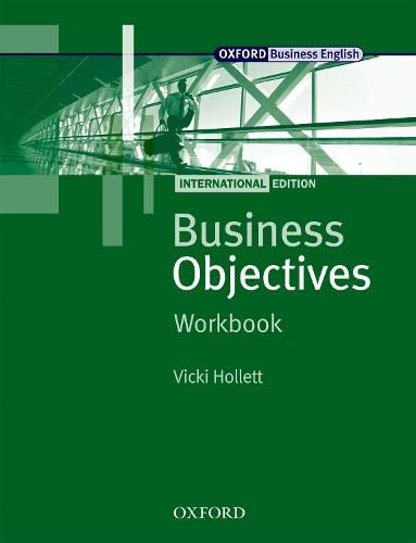 Business Objectives Workbook: International Edition (Business Objectives International Edition)