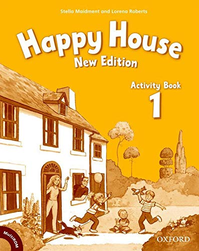 Happy House: Activity Book and MultiROM Pack Level 1