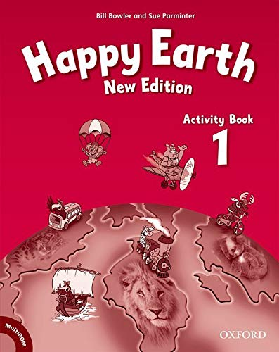Happy Earth: Activity Book and MultiROM Pack Level 1