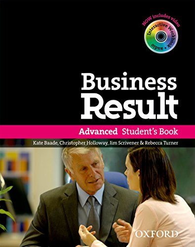 Business Results Advance Student Book Dv