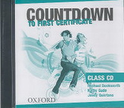 Countdown to First Certificate: Class Audio CDs
