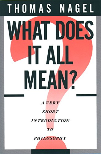 What Does It All Mean? Book Cover Picture