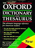 The Oxford Dictionary and Thesaurus: The Ultimate Language Reference for American Readers - book cover picture
