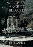 Julia Annas: Voices of Ancient Philosophy