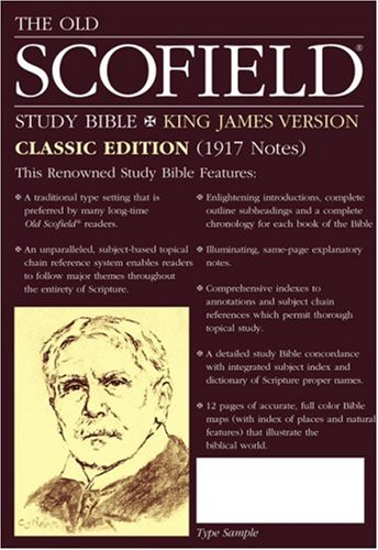The Old Scofield Study Bible, 2nd Reader's Edition: King James Version (KJV), burgundy genuine leather