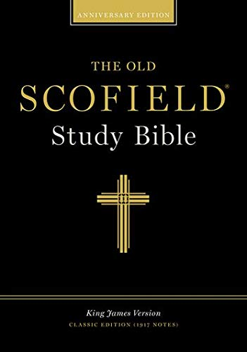 The Old Scofield Study Bible, Classic Edition: King James Version (KJV), Navy Bonded Leather, Thumb-Indexed