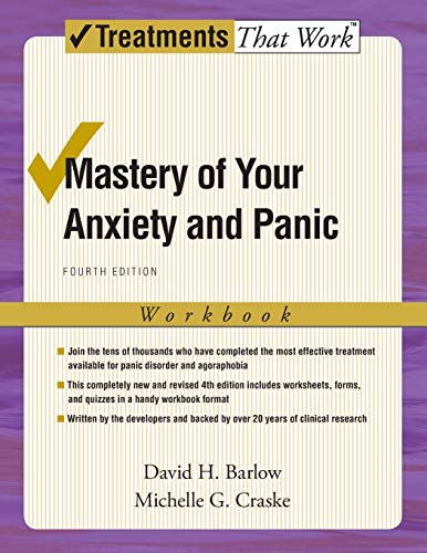 Mastery of Your Anxiety and Panic Book Cover Picture