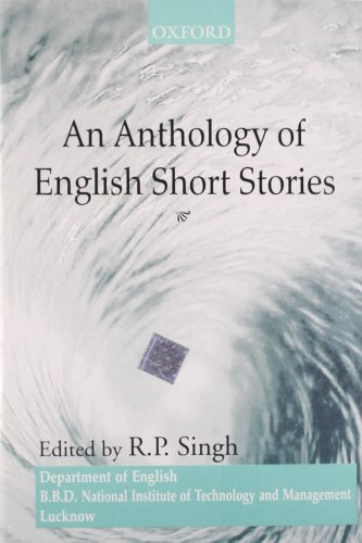 AN ANTHOLOGY OF ENGLISH SHORT STORIES