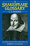 A Shakespeare Glossary - book cover picture