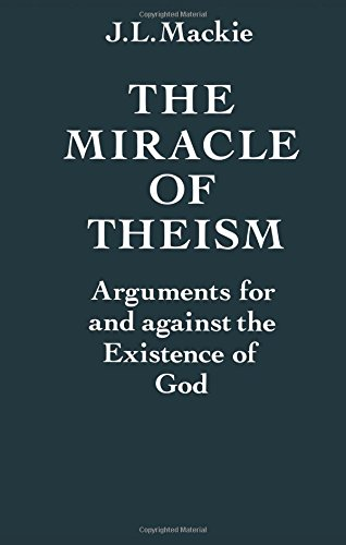 The Miracle of Theism Book Cover Picture