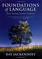 cover of Foundations of Language