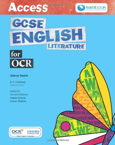 Access Gcse English Literature for Ocr S