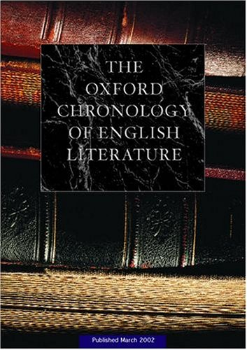 The Oxford Chronology of English Literature on CD-ROM