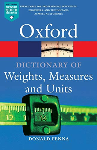 PDF A Dictionary of Weights Measures and Units