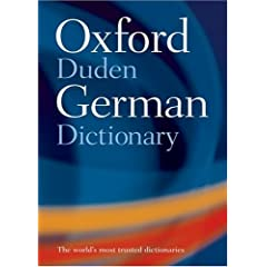 Oxford-Duden German Dictionary: German-English / English-German