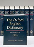 The Oxford English Dictionary, Second Edition (20 Volume Set) - book cover picture