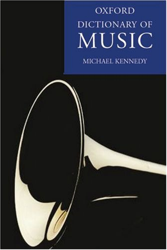 Reference book collection music libguides at washington state the oxford dictionary of music 2nd ed by michael kennedy and joyce bourne eds fandeluxe Images