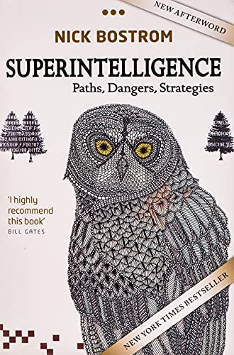 cover for Superintelligence: Paths, Dangers, Strategies