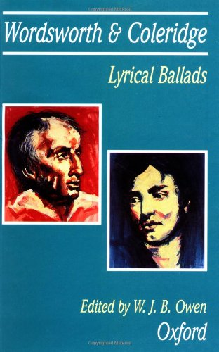 Wordsworth & Coleridge Lyrical Ballads (Reprinted with Corrections 1996)