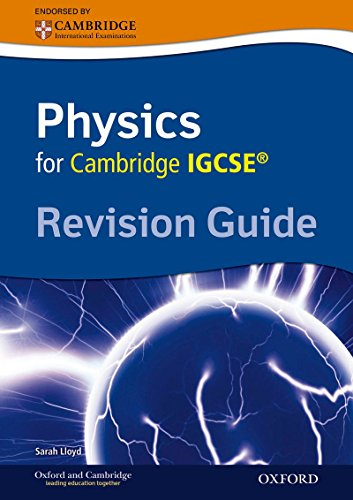 Cambridge Physics Igcse Revision Guide