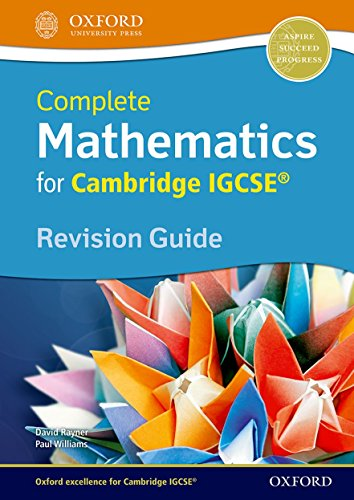 Mathematics: Igcse Revision Guide