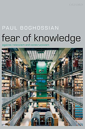 Fear of Knowledge Book Cover Picture