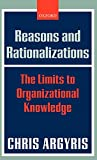 Buy Reasons and Rationalizations: The Limits to Organizational Knowledge from Amazon
