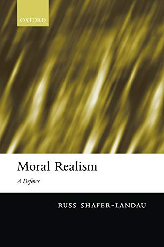 Moral Realism: A Defence Book Cover Picture