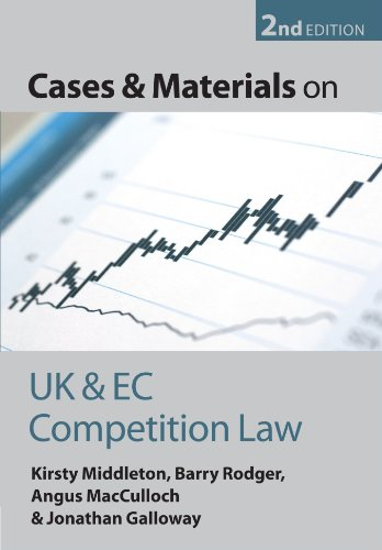 Cases and Materials on UK and EC Competition Law