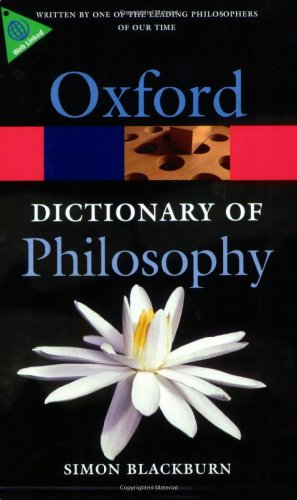 The Oxford Dictionary of Philosophy Book Cover Picture