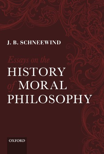 essays on the history of moral philosophy The first of the chapters in this book argues against foundationalism in moral philosophy the next analyzes the main arguments in sidgwick's methods of ethics.