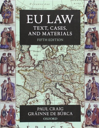 EU Law: Text, Cases, and Materials