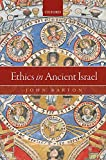 Ethics in Ancient Israel book cover