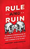 Cover Image of Rule and Ruin: The Downfall of Moderation and the Destruction of the Republican Party, From Eisenhower to the Tea Party by Geoffrey Kabaservice published by Oxford University Press